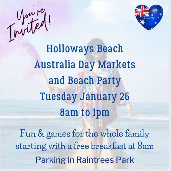 Holloways Beach Australia Day Seaside Markets
