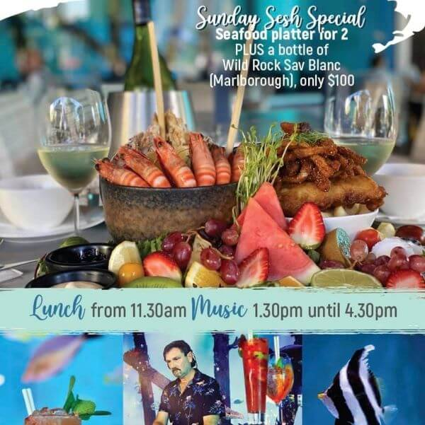 Sunday Sesh at Dundee's Cairns Aquarium