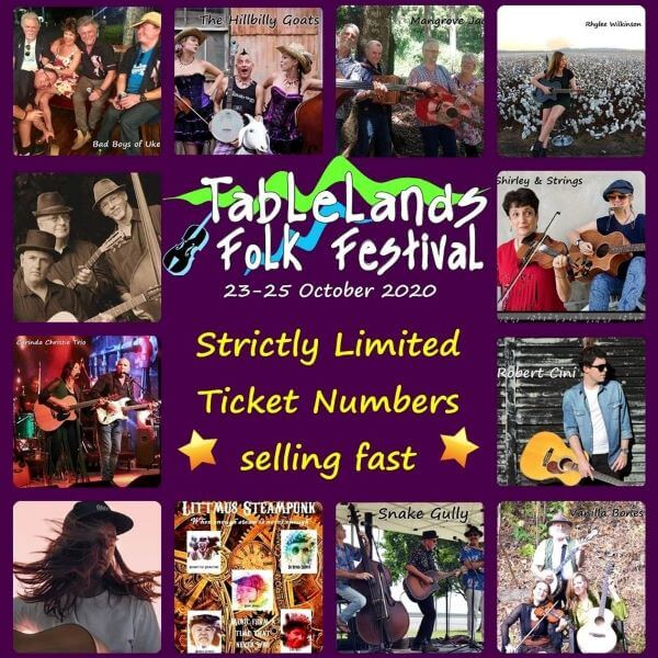 Tablelands Folk Festival 2020