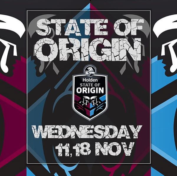 State Of Origin 2020 – Reef Hotel Casino