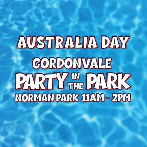 Australia Day Party in the Park – Gordonvale
