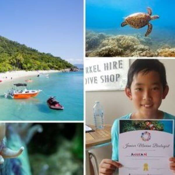 Fitzroy Island – Junior Marine Biologist Program