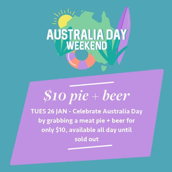 Australia Day – Celebrate at the Salt House