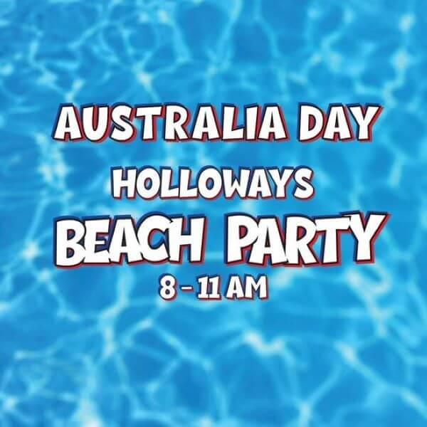 Australia Day Beach Party – Holloways Beach