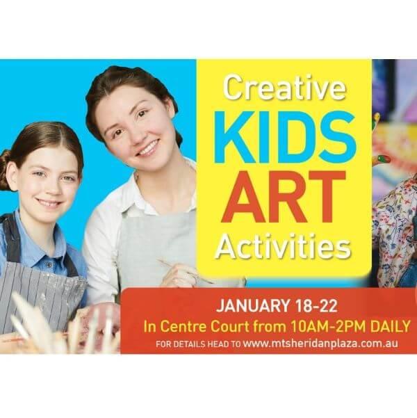 Creative Kids Art Activities – Mount Sheridan Plaza