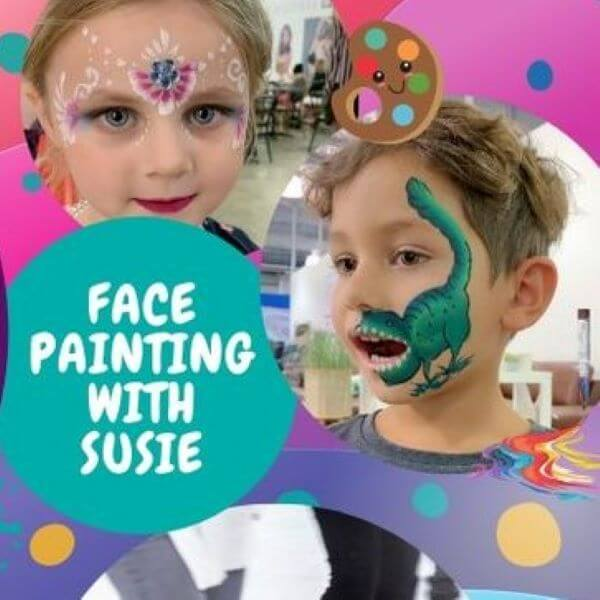 Face Painting with Susie – DFO Cairns