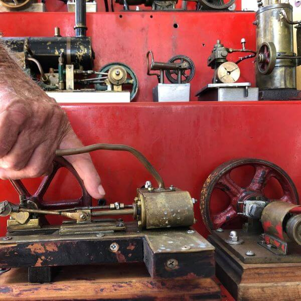 Objects Of Fascination: Teddy Powell's Miniature Steam Engines