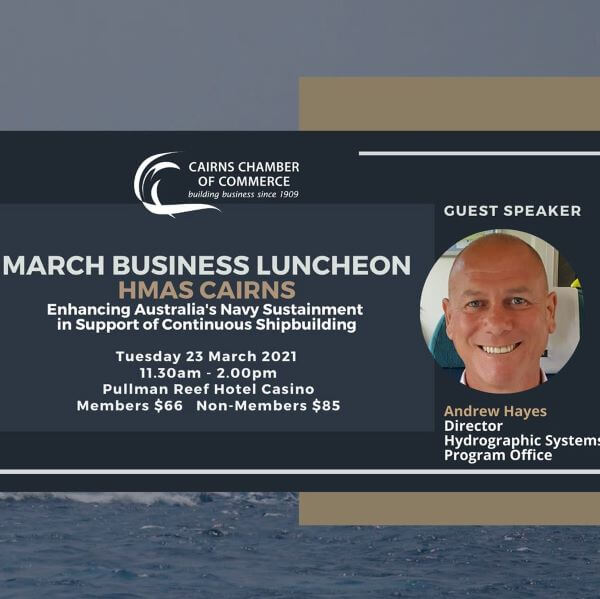 CCoC – 2021 AGM and March Business Luncheon