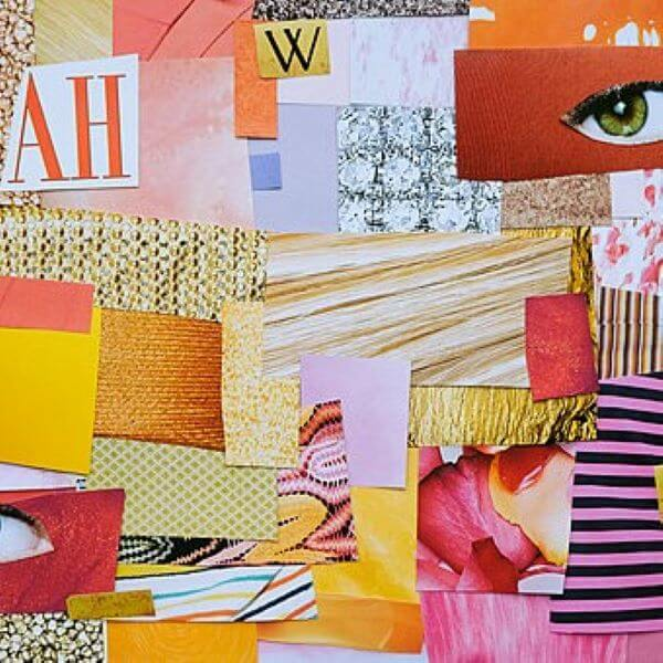 CAG Easter School Holiday Workshop – Portrait in Collage with Amber Grossman – Ages 8 to 12 Years
