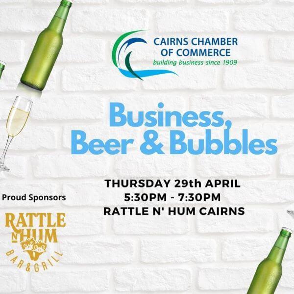 CCoC – April Business, Beer & Bubbles