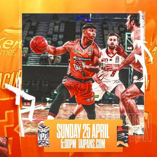 Cairns Taipans v Perth Wildcats on Anzac Day