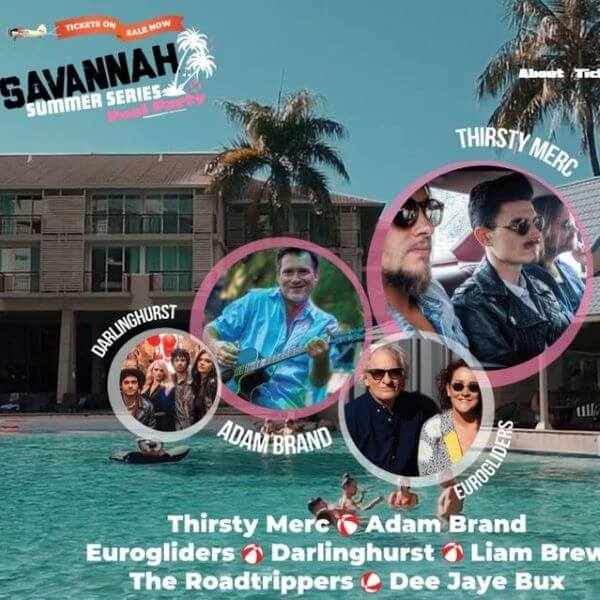 Savannah Summer Series Pool Party