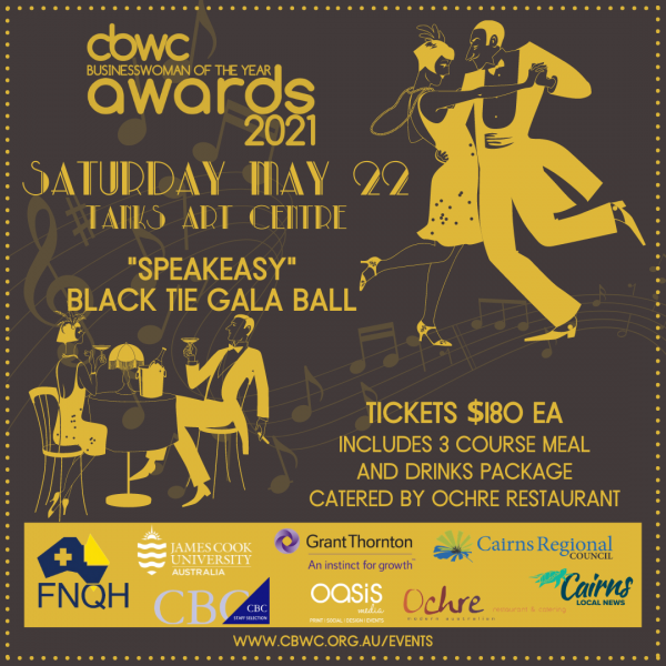 CBWC Business Women of the Year Awards Ball 2021