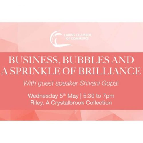 Business, Bubbles and a Sprinkle of Brilliance