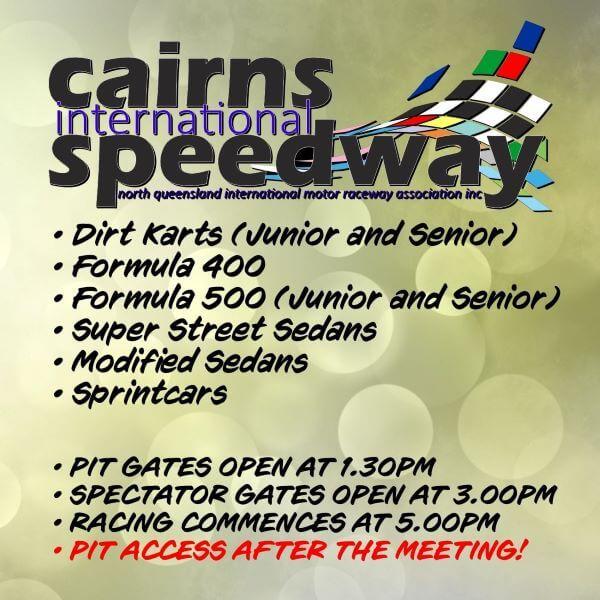 Cairns Speedway – Round 1 2021