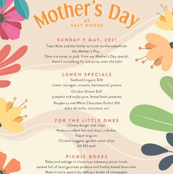 Mother's Day at Salt House