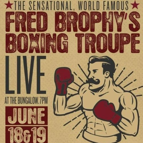 Fred Brophy's Famous Boxing Troupe