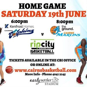Cairns Marlins & Dolphins V's USC Rip City