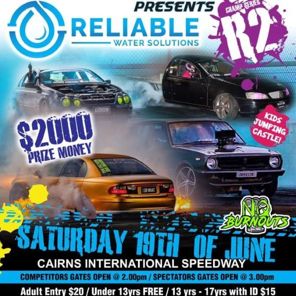 NQ Burnouts Second Championship presented by Reliable Water Solutions