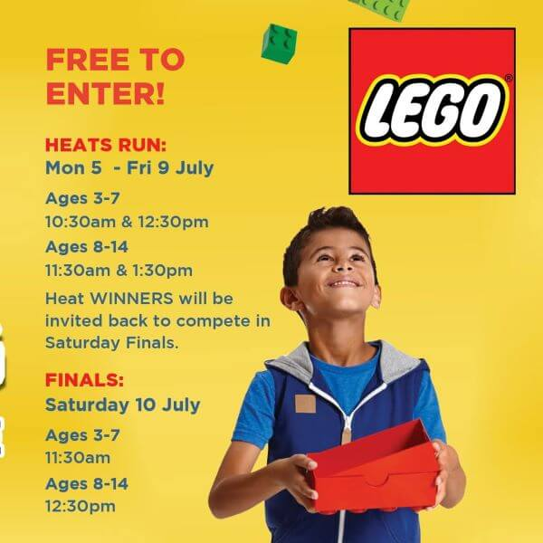 The Great LEGO Building Challenge – School Holiday Fun at Mount Sheridan Plaza