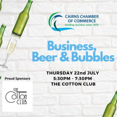 July Business, Beer & Bubbles
