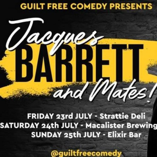 Jacques Barret at Macalister Brewing Company