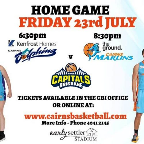 Cairns Dolphins & Cairns Marlins V Brisbane Capitals