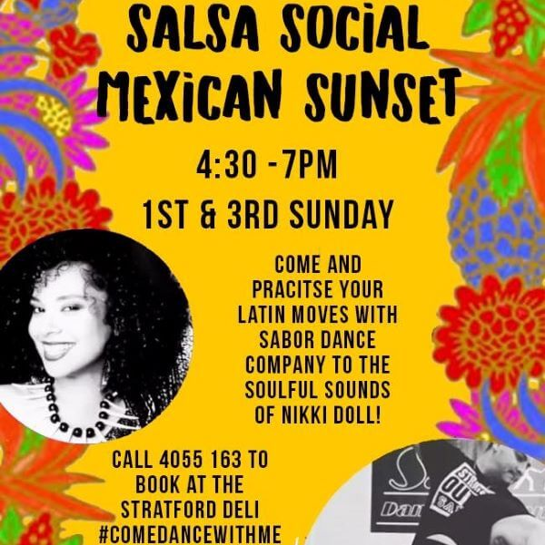 Salsa Social and Mexican Sunset