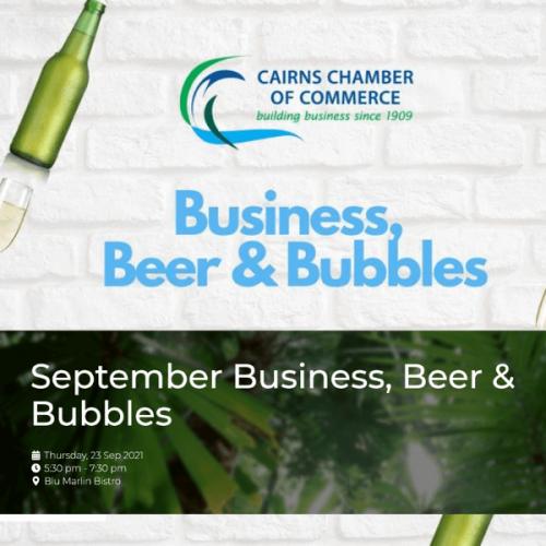September Business, Beer & Bubbles