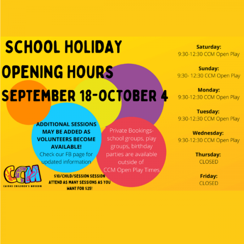 CCM Open Play Sessions