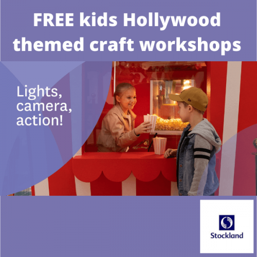 Stockland Cairns - Hollywood Kid's Craft