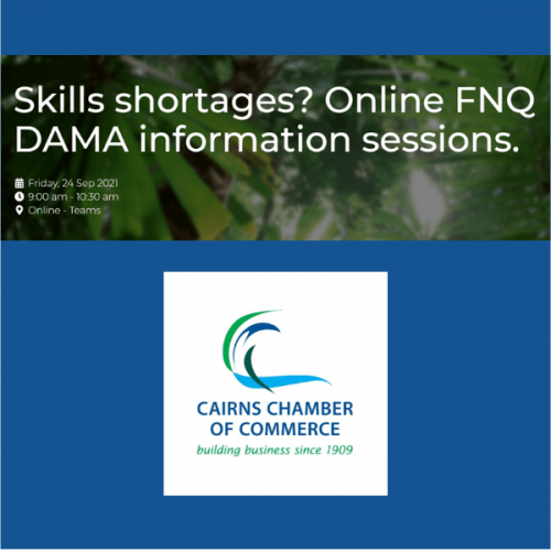 Online FNQ DAMA Information Sessions
