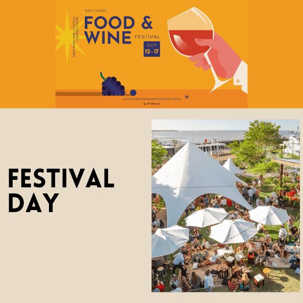 Salt House Food & Wine Festival 2021 - Festival Day